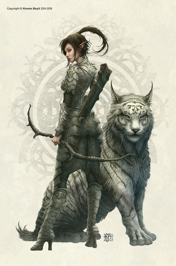 Illa, Ranger (Dragão, Besta Mágica e Anão) Guardiã de Meruen