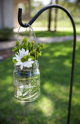 anemone, daisy, details, green, jars, light green, modern , white, yellow, pinstripes, art deco, shabby chic, classic, ceremony, country, deco, decor, decoração, decorations, floral, flowers, garden, greens, outdoor, reception, rustic, spring, theme, wedding, Ponte Vedre, Florida