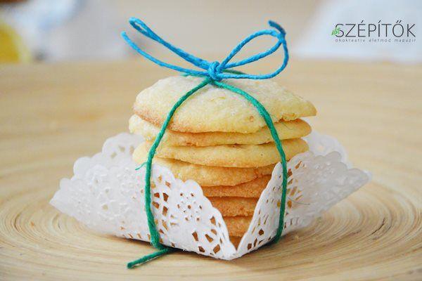 Fahéjas-gyömbéres vajas keksz