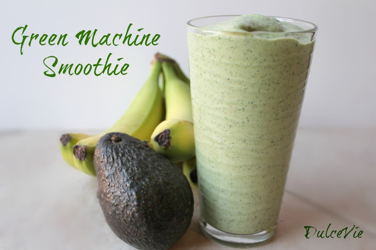 Green Machine Smoothie | My Blog {DulceVie} | Pinterest