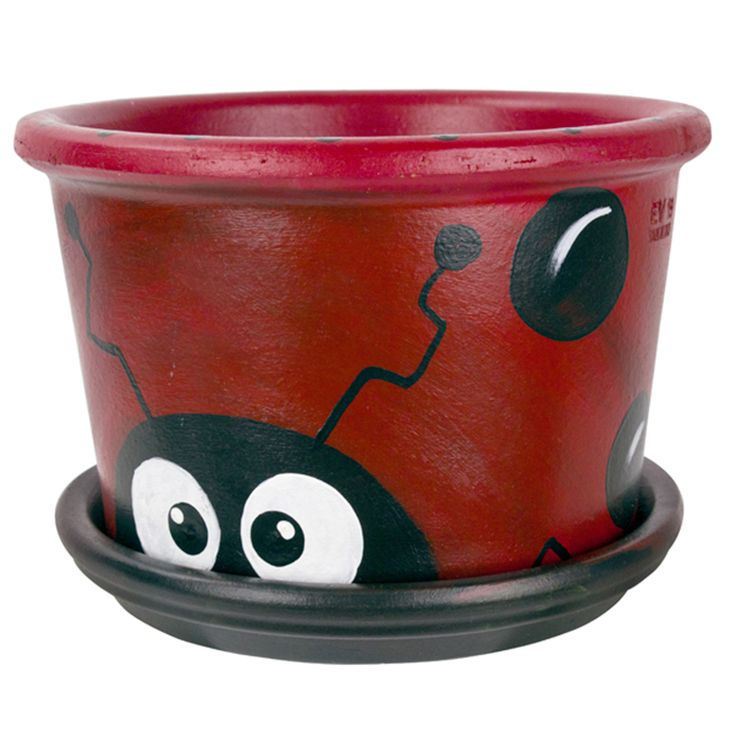 DecoArt Terra Cotta Ladybug #claypot #craft