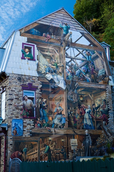 1377 best images about peinture on pinterest canada for Mural quebec city