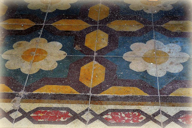 Old Tile Entry in Galatina Italy - by Catcher In My Eye, via Flickr