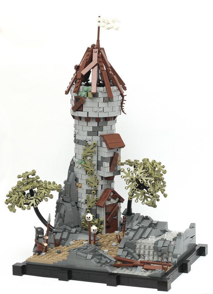 LEGO castle watch tower