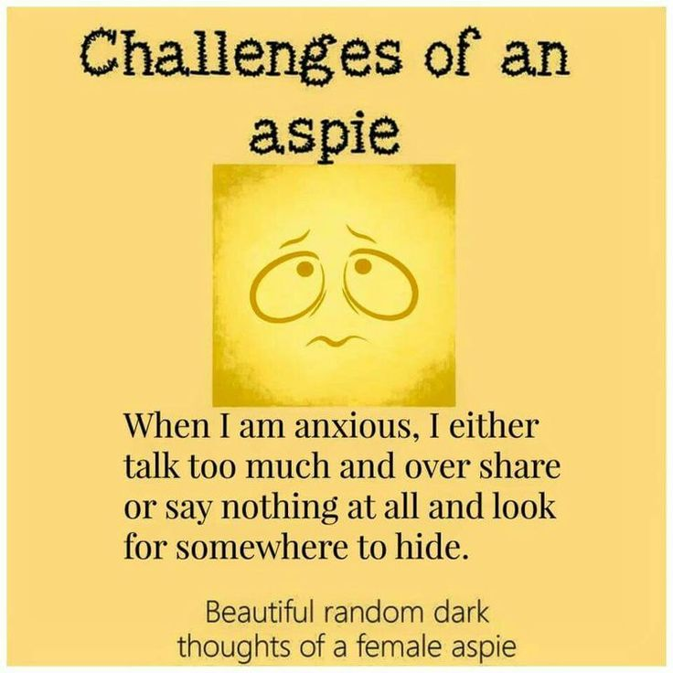 Insight Into Some Of The Behaviors Of Our Aspie Friends Look Beyond Behavior And Look For The Why Lo Aspergers Syndrome Aspergers Awareness Aspergers Autism