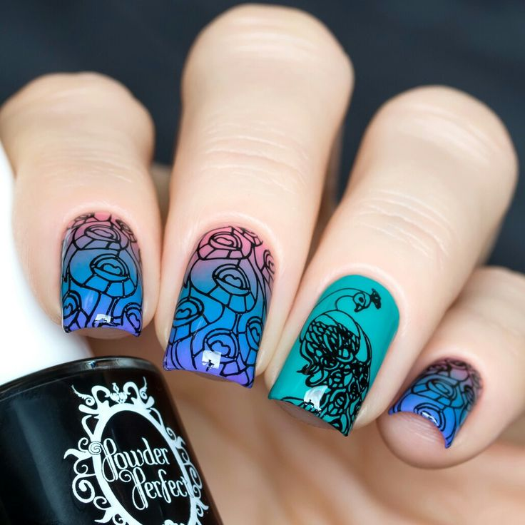 Powder Perfect will be a vendor at Aussie Indie Con in Sydney on June 17th 2017. https://www.facebook.com/AussieIndieCon/?fref=ts    Nail art done by https://www.instagram.com/solo_nails/?hl=en using Powder Polish Bermuda Triangle trio and black stamping polish