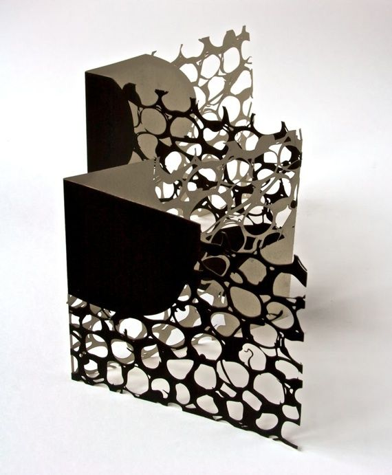 book of beads / laser cut and screen printed artist book -by Jenny Smith