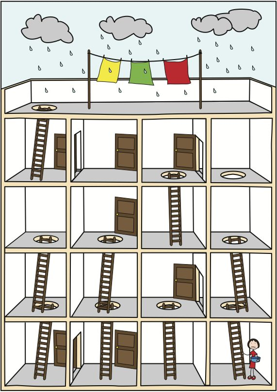 A maze... a Logic Puzzle
