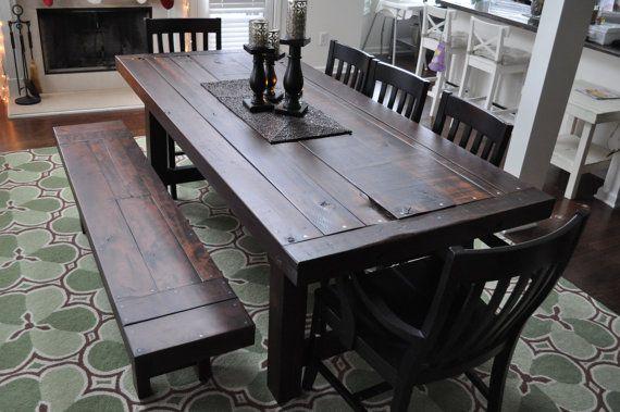 17 meilleures images à propos de Rustic tables sur Pinterest