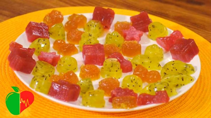 Homemade Fruit and Ginger Gummy Candy for any Throat Problem