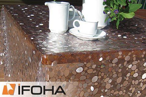 Folie voor glazen tafel ⇒ IFOHA film nodig
