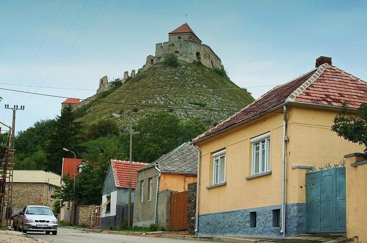 The ruins of Sümeg Castle near Lake Balaton, Hungary
