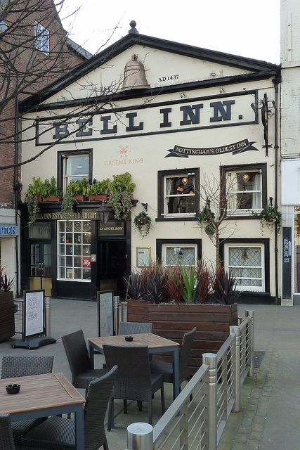 The Bell Inn Nottingham, England
