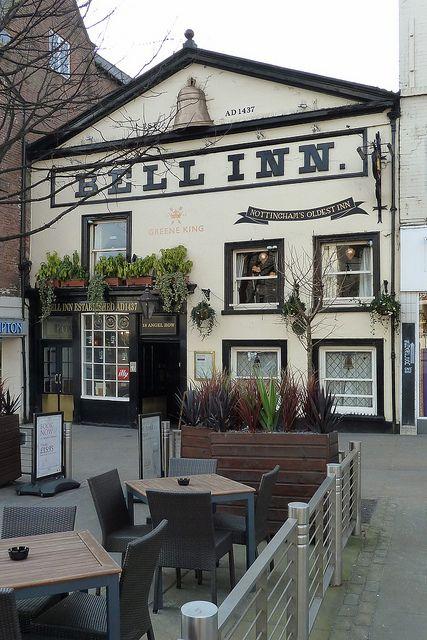 The Bell Inn Nottingham, England