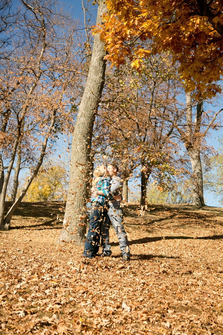 Another fun fall session! Photo by Eileen. #MinneapolisWeddingPhotographer