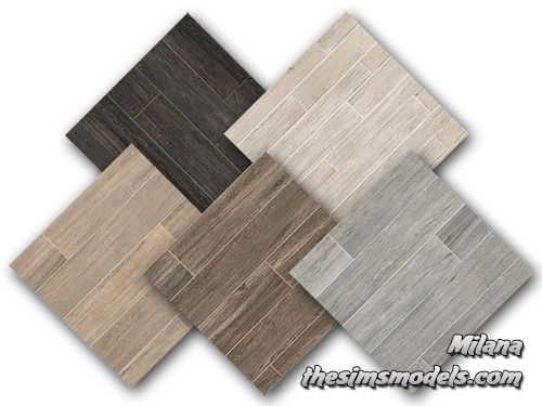 Wood Floor By Milana At The Sims Models Sims 4 Updates