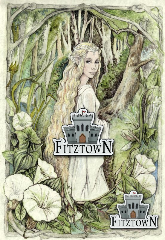 lilia painting from the last enchanter by morgan fitzsimons