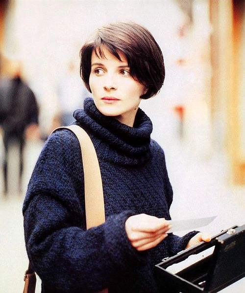 Juliette Binoche in Bleu by Krzysztof Kieslowski /  The Three Colors Trilogy (1993–1994) Blue by Kieslowski