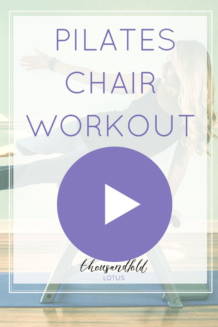 Balanced body pilates chair - Total Body Workout Under 20 Minutes On The Pilates Chair The Pilates Chair Is The