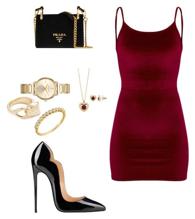 """""""Untitled #7"""" by gaulosaturne on Polyvore featuring Prada, Napier, Michael Kors and Soave Oro"""