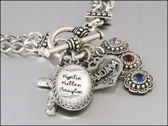 Grandmother Birthstone Jewelry Mother's by BlackberryDesigns, $58.00