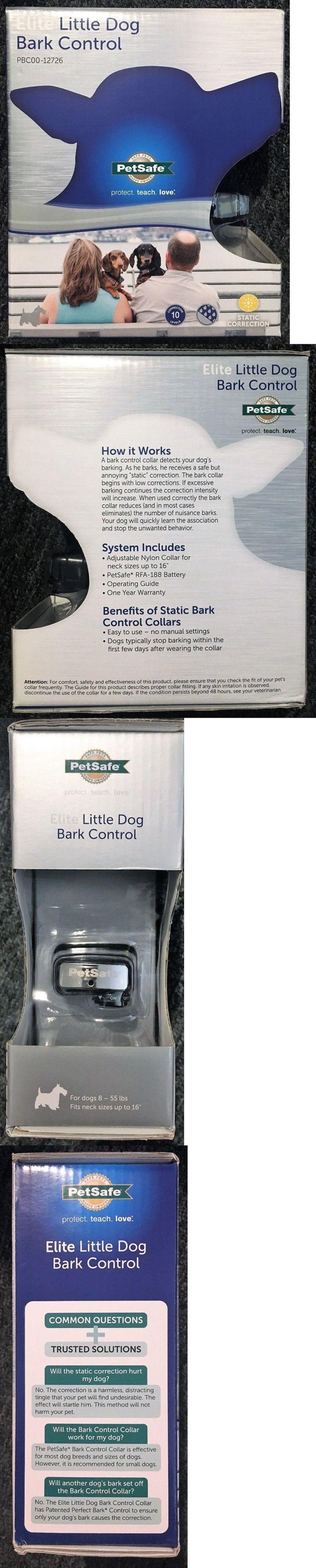 Bark Collars 66774: Petsafe Elite Little Dog Bark Control -> BUY IT NOW ONLY: $54.99 on eBay!