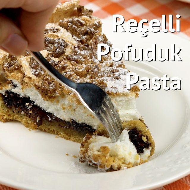 Ev yapımı pasta tariflerinin en yenisi, en güzeli reçelli pofuduk pasta. Kat kat tat, çok çok lezzet.