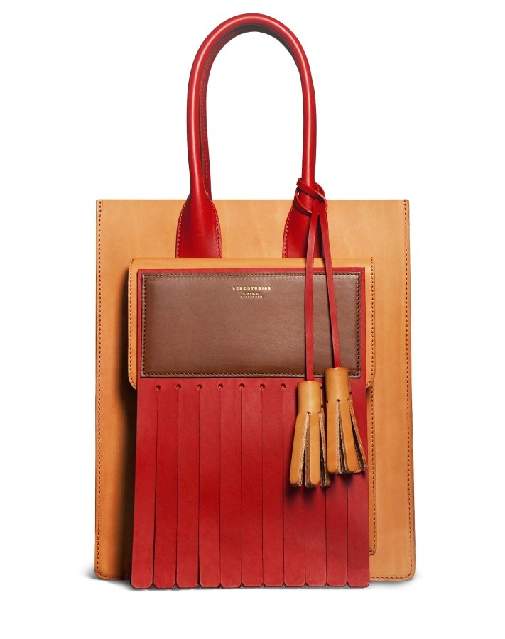 Piers Tan Tote by Acne