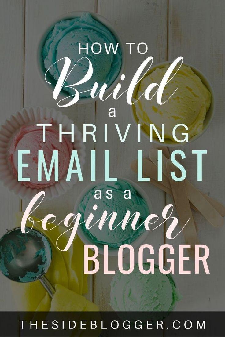 So erstellen Sie eine ansprechende E-Mail-Liste als Blogger-Neuling