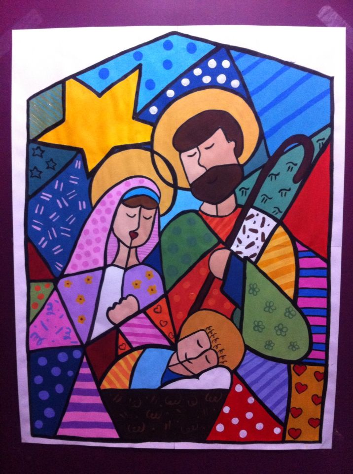 Mural of christmas