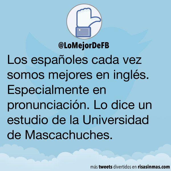 Los españoles somos mejores en inglés