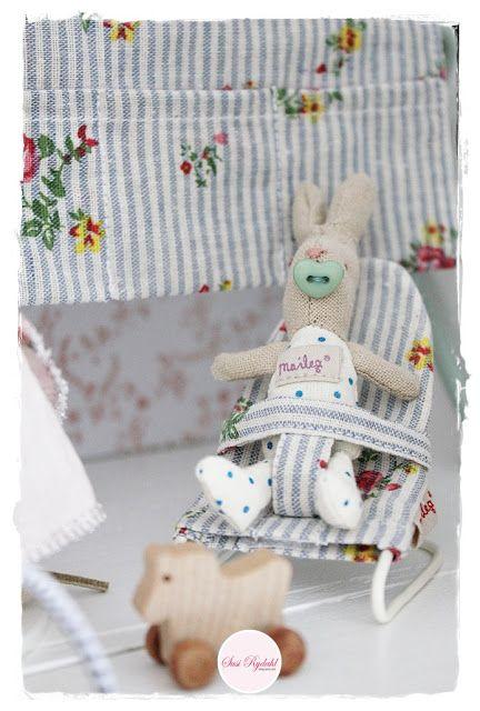 Sommerhusliv Hele Aaret: Maileg dukkehus til vores barnebarn...