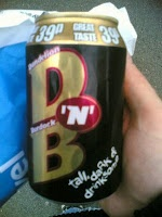 """""""D 'N' B""""....Dandelion and burdock is a traditional British soft drink, drunk in the British Isles since about 1265. Traditionally it is made from fermented dandelion and burdock (Arctium lappa) roots, and is naturally fizzy."""