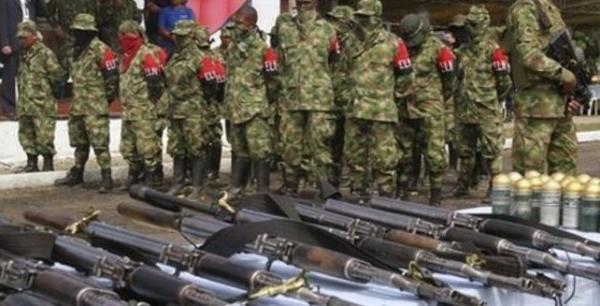 Akhiri Konflik, Pemberontak Kolombia Serahkan Ribuan Senjata Pada Petugas Internasional