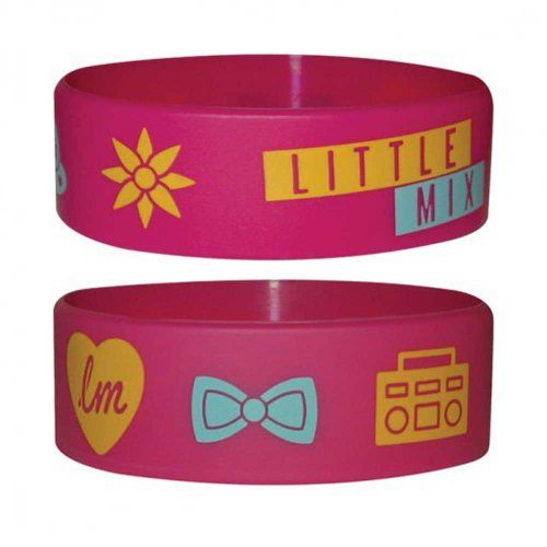 Little Mix - Icons - Braccialetto in silicone - Wristbands - Larghezza: 24mm, Diametro: 65mm, Spessore: 1mm Empire http://www.amazon.it/dp/B00ASQZZ3S/ref=cm_sw_r_pi_dp_uhK2tb1VHYWSGKGZ