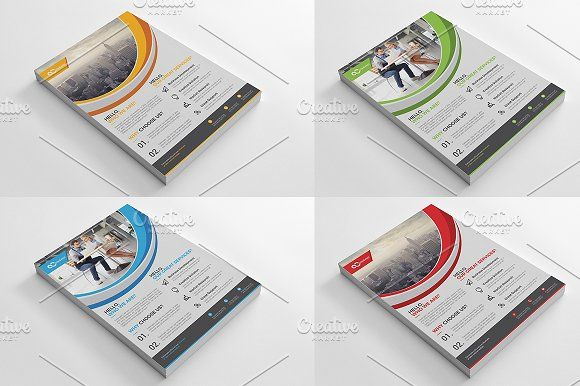 Corporate Flyer by Cristal Pioneer on @creativemarket
