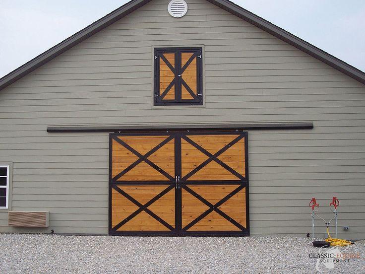 17 best images about barn on pinterest sliding barn for Barn loft doors