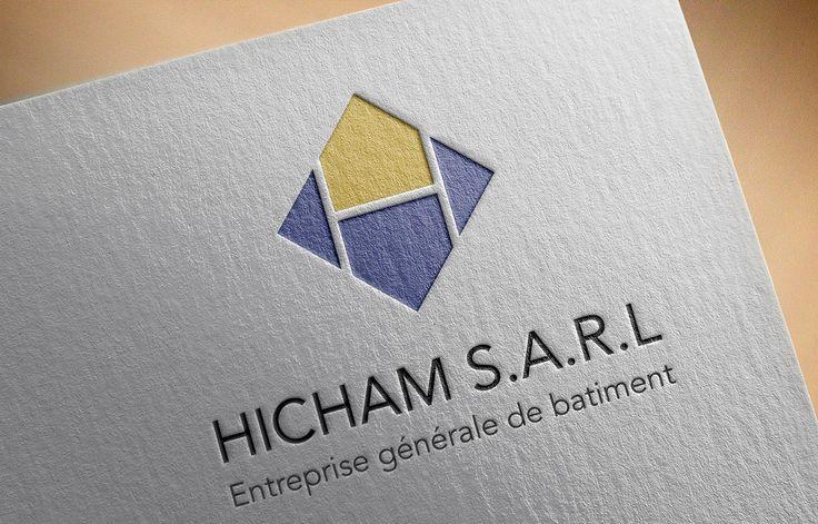 Consultez mon projet @Behance: \u201cIdentité visuelle Hicham Entreprise rénovation\u201d https://www.behance.net/gallery/49410243/Identit-visuelle-HichamEntreprise-rnovation