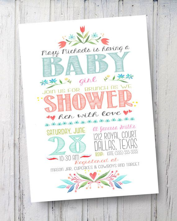 Baby Sprinkle Invite  Vintage Baby Shower  by EmeraldAvenueDesigns