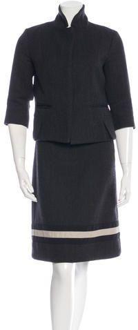 Marni Wool Skirt Suit