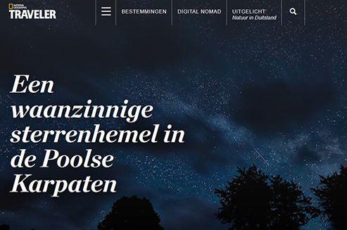 Alle sterrenkunde liefhebbers opgelet! Door lichtvervuiling rondom steden wordt het steeds moeilijker voor astronomen om sterren te kijken. Astronoom Pavol Ďuriš woont op één van de laatste vier natuurlijk donkere plekken in Europa en kijkt avond na avond naar de mooiste sterrenhemel.  #Podkarpackie #Bieszczady