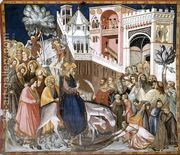 Entry of Christ into Jerusalem c. 1320  by Pietro Lorenzetti