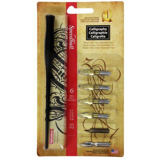 Speedball Calligraphy Pen Set