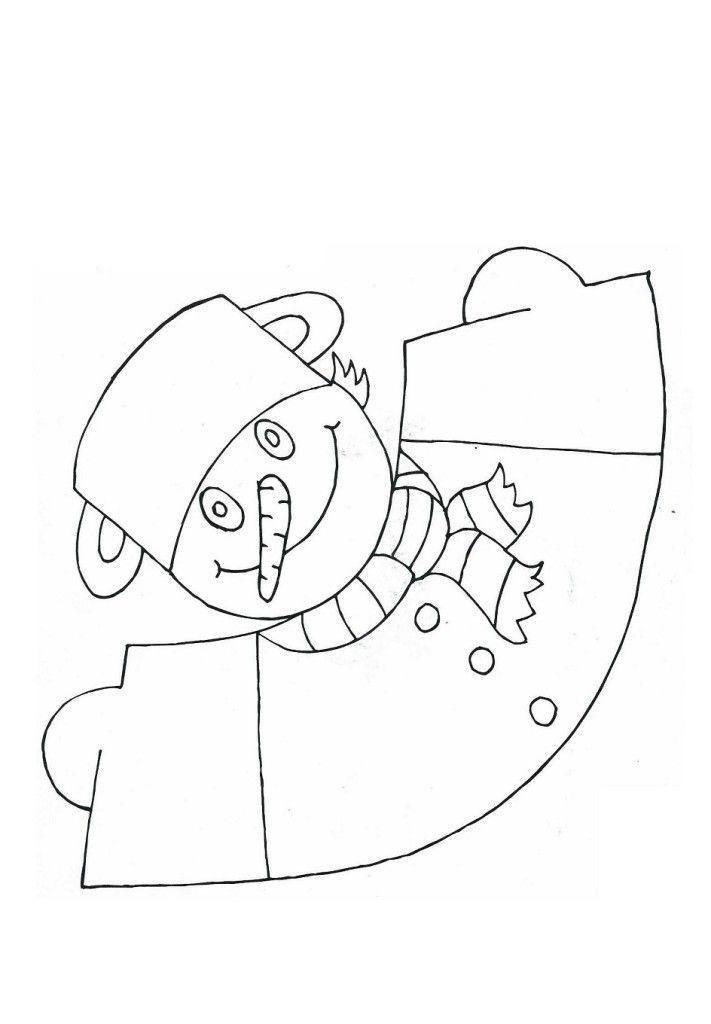 Sněhulák-figurka