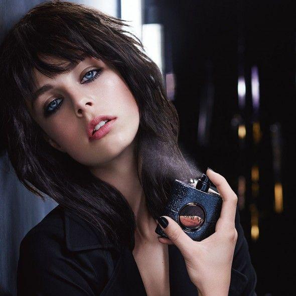 Edie Campbell stars in YSL Black Opium campaign | Harper's Bazaar