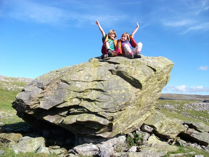 Clambering on the Norber Erratics in the Yorkshire Dales    2012 Sep-Oct :: file-1.jpg picture by padihamknitter - Photobucket
