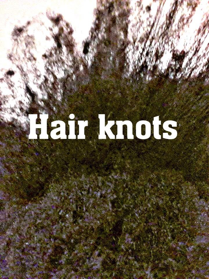 CoilyQueens™ : How to correct rough puffy hair ends and knots
