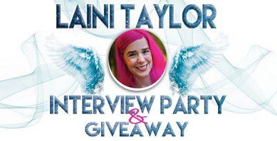 Il Cibo della Mente: Laini Taylor: Interview Party & Giveaway!