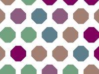 Art octagon powerpoint background