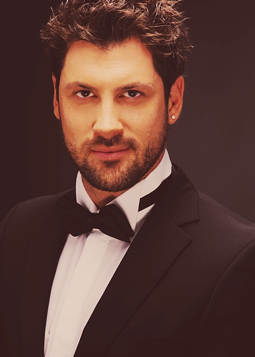 Maksim Chmerkovskiy. It's almost unfair that he's a magnificently talented ballroom dancer in addition to being this pretty.